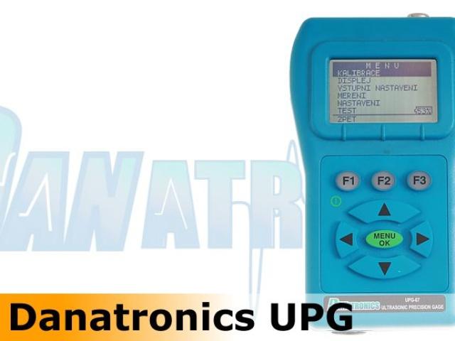 Precise UT thickness gages Danatronics UPG