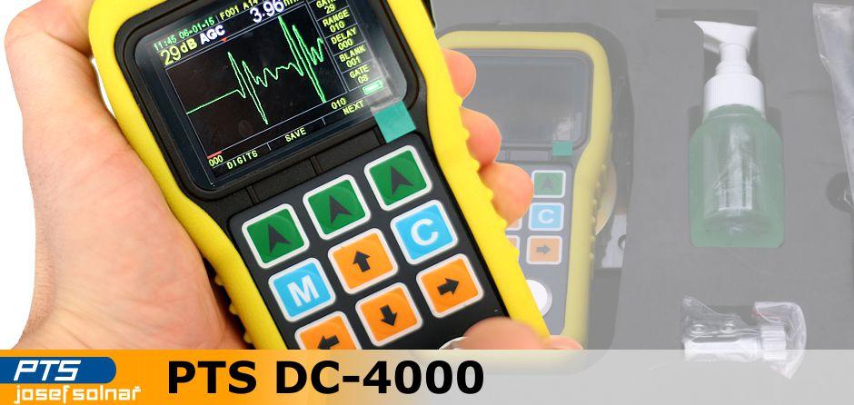 Ultrazvukový tloušťkoměr PTS DC-4000